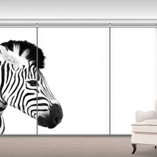 GL0910 - White Zebra