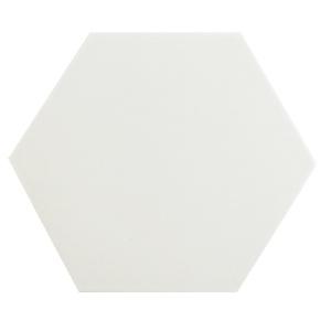 [무료배송]단색 화이트 육각타일(200x230mm)(20장/약0.7헤베)