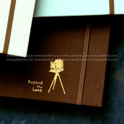 MU/접착앨범-블랙내지 초콜렛