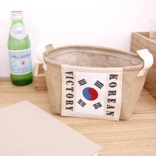 UI/(미니)쥬트 바스켓 대한민국