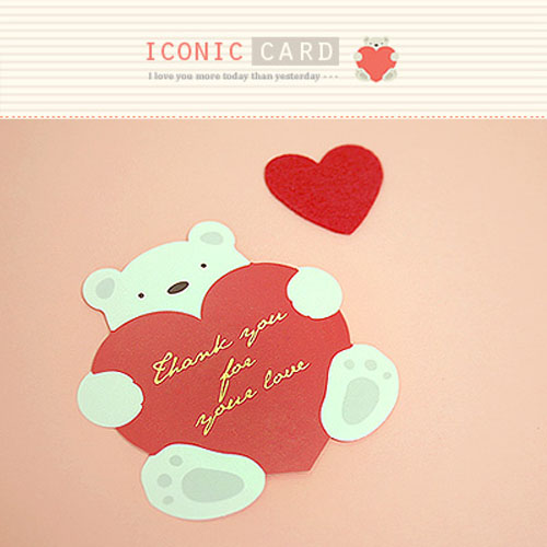 ICN/카드-러블리베어