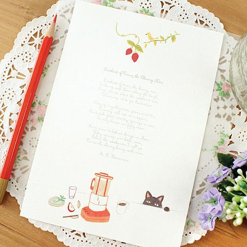 GMZ-Beri letter(애플쥬스)