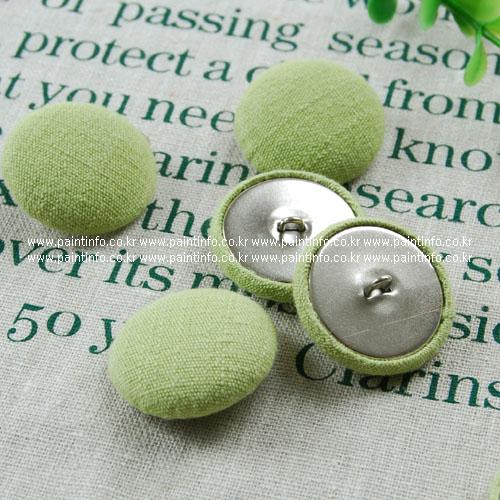 싸개단추-천연염색 애플그린