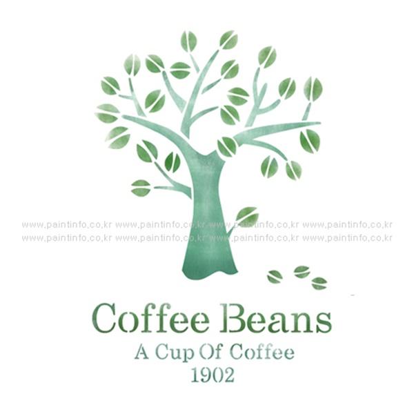 스텐실본 Coffee Beans