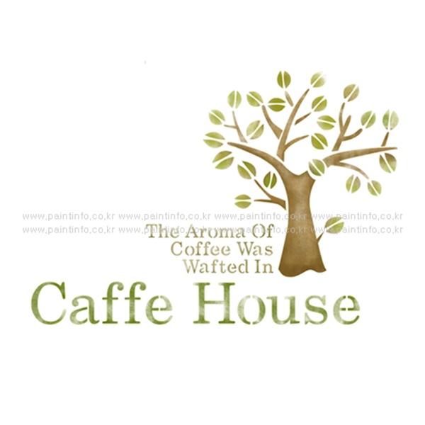스텐실본 Caffe House