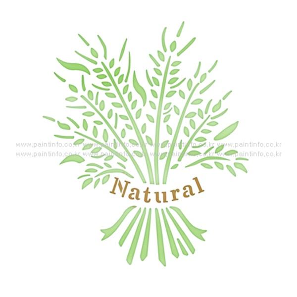 스텐실본 Natural