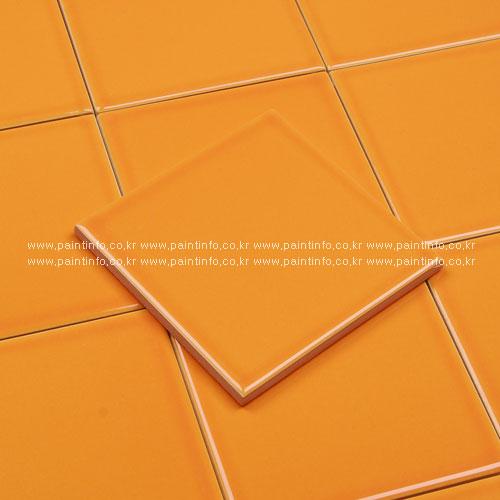 단색사각타일 오렌지