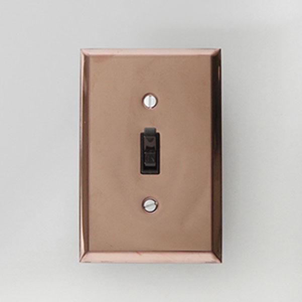 Beiger 토글 스위치 Bronze_brown