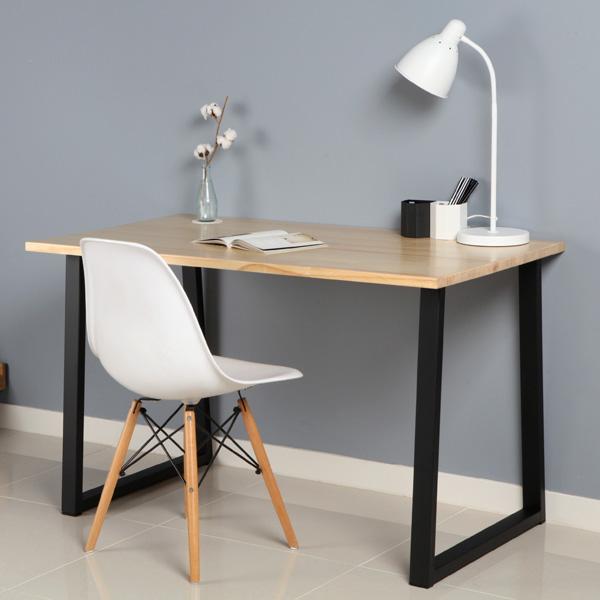 [어반스틸]A자 철제다리 테이블 SET-2color