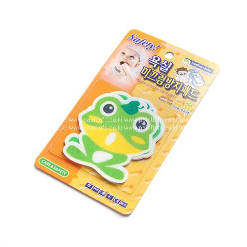 욕실미끄럼방지패드(개구리)