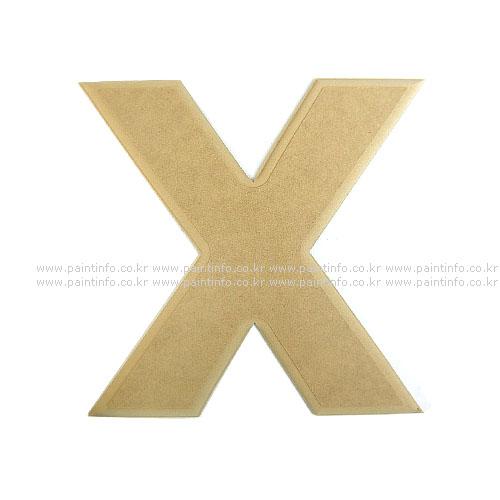 알파벳 대문자 X