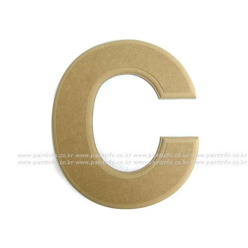 알파벳 대문자 C