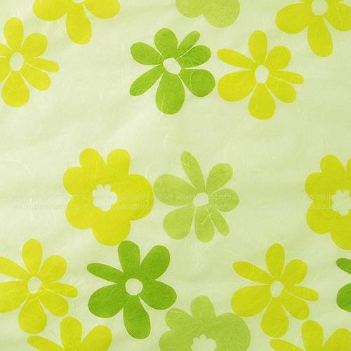 패턴한지-난꽃지10 파스텔그린
