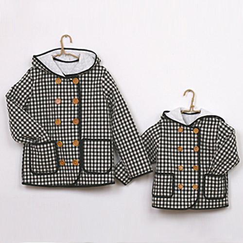 NE/pattern - Jacket 01] Quilt Jacket - child