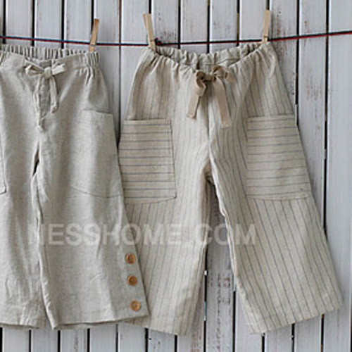 NE/pattern - Pants 01] Easy Wide Pants Kids