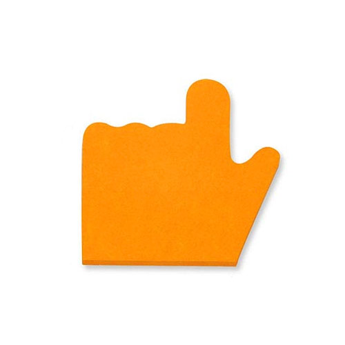 포스트잇(형광)-손가락