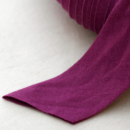 NE/ - Mulberry flannel Linen - 5cm 매트전용 큰폭 바이어스