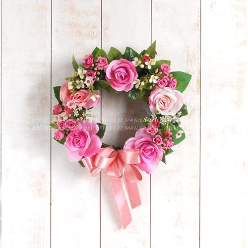 핑크로즈 리스