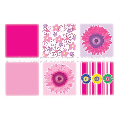 UN/NSC-32203 욕조용논슬립(핑크)