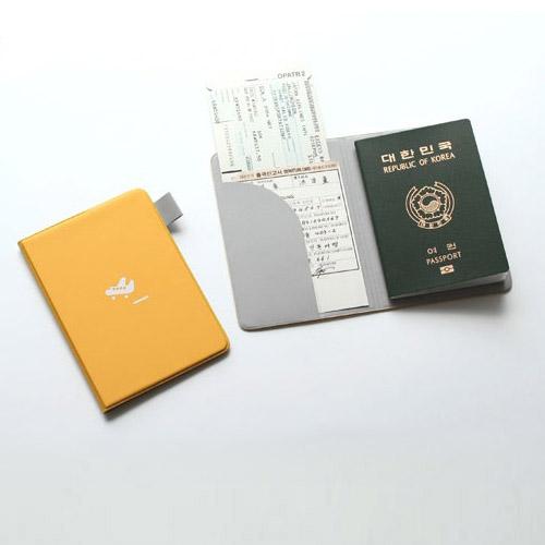 Passport Cover 여권커버(옐로우)