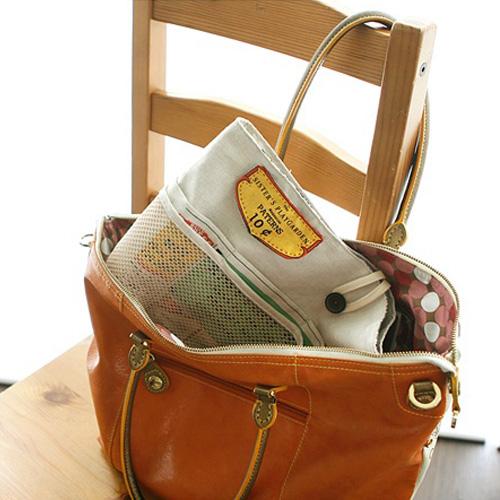 NE/Pattern - Pouch 05] Bag In Bag Pouch