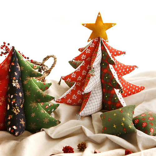 NE/Pattern] Fabric Christmas Tree
