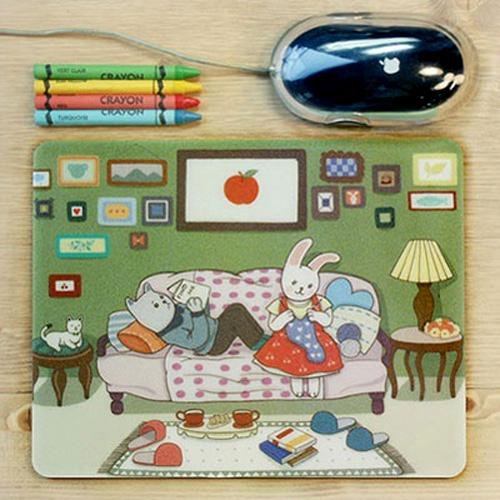 마우스 패드-Sweet Home