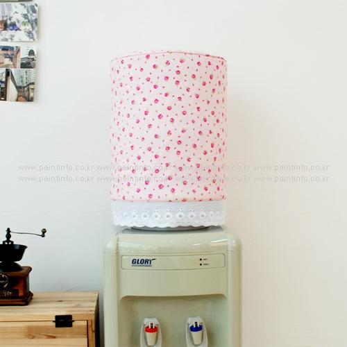 냉온수기 물통커버 큐트로즈(핑크)