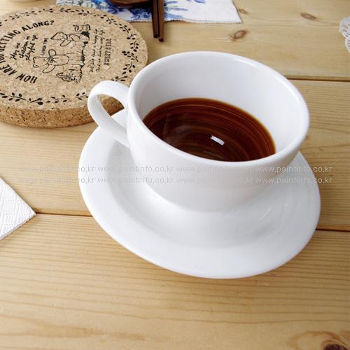 DL-카푸치노 커피잔