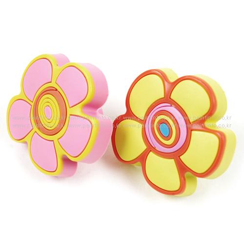 CO.젤리 손잡이 꽃