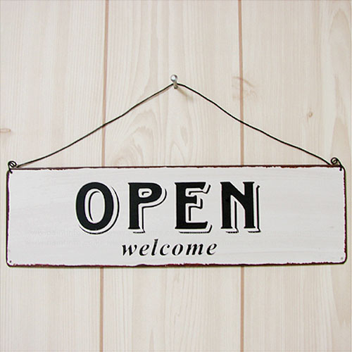 Open - Closed 틴사인보드