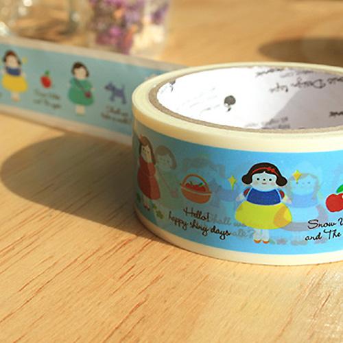 ICN/디자인테이프 Little girls(4Cm)