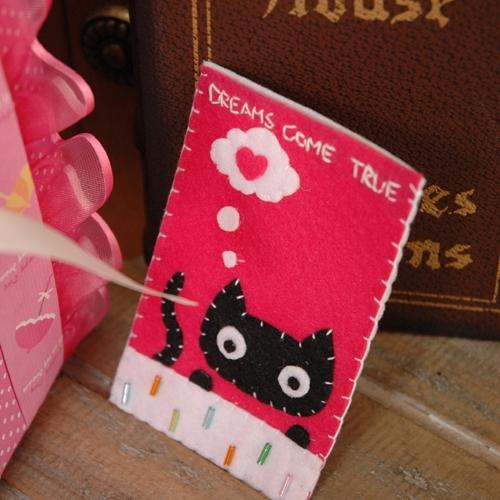 HO/블랙캣 카드지갑 만들기