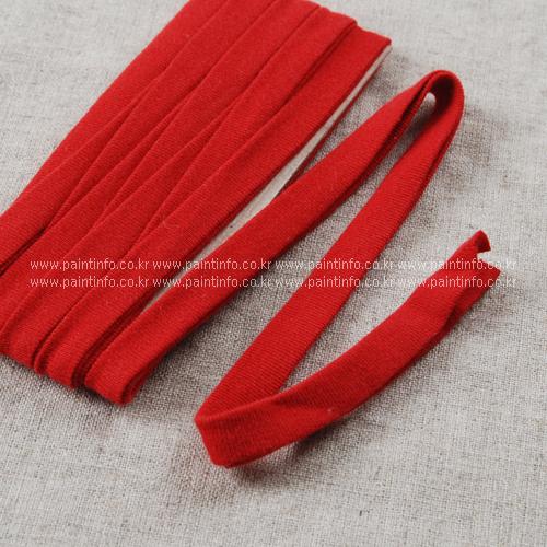 WD/향균더블니트바이어스(빨강)