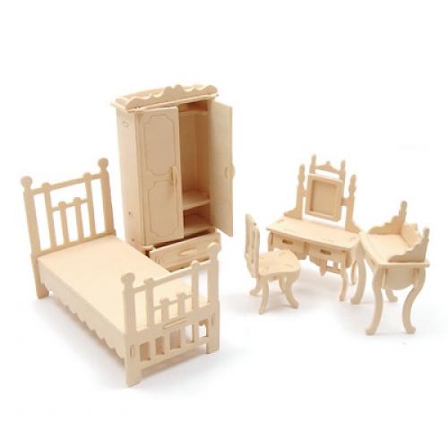 미니어처가구만들기 (침실세트)