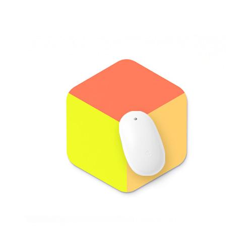 마우스패드 - cube warm