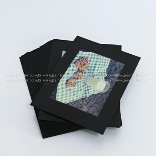MU/3X5 포토박스 리필 블랙