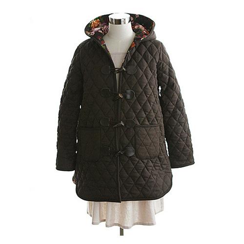 NE/Pattern - Coat 04] Quilting Hood Coat