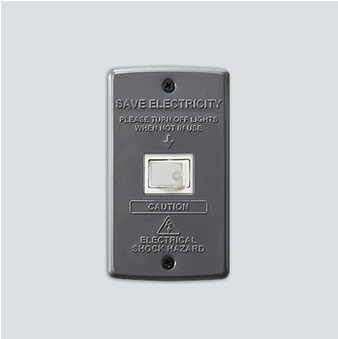 AWS Switch plate_1구 Gray