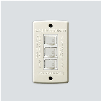 AWS Switch plate_3구 Ivory