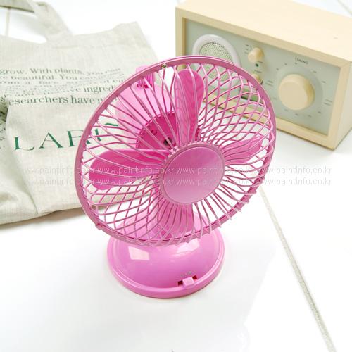 DL-엔젤미니선풍기(핑크)