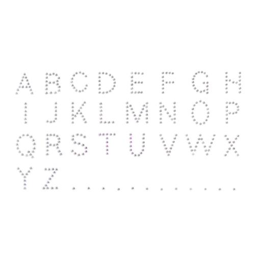 Rhine Stone ST070 알파벳