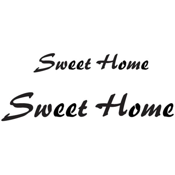 스텐실본 Sweet Home(소)