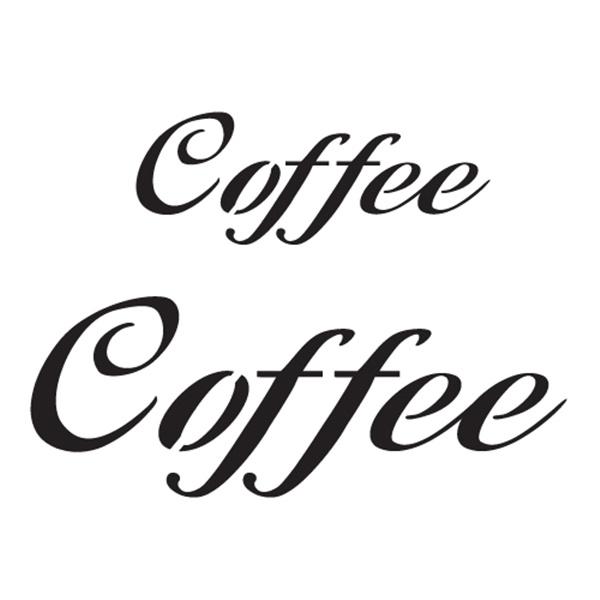 스텐실본 Coffee