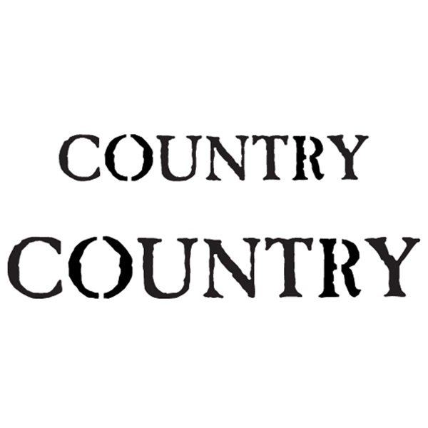 스텐실본 COUNTRY
