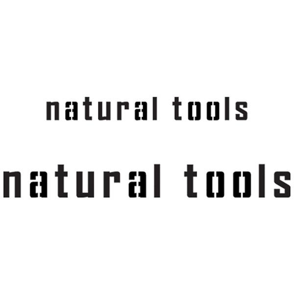스텐실본 natural tools