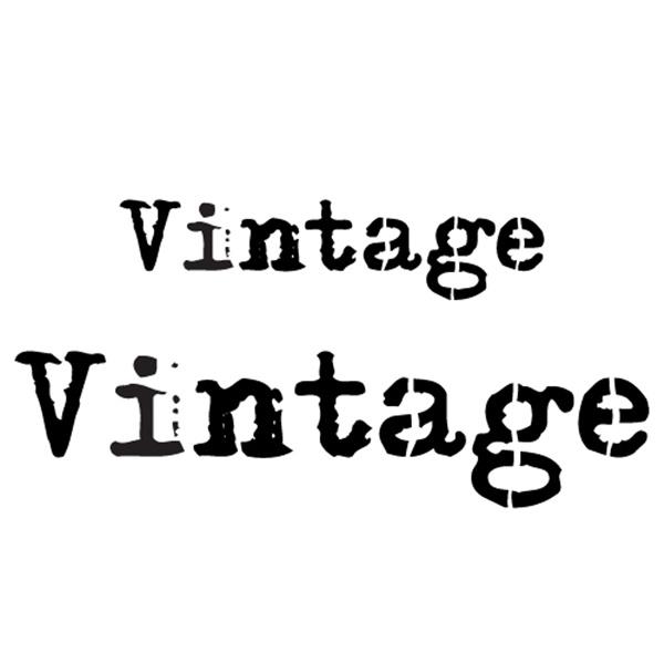 스텐실본 vintage