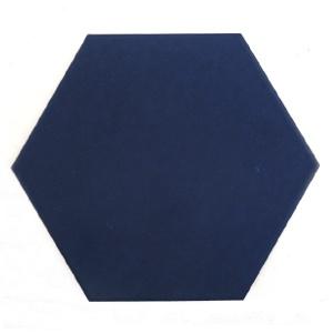 [무료배송]단색 네이비블루 육각타일(200x230mm)(20장/약0.7헤베)