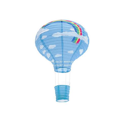 구름 열기구 풍선 모빌(블루)