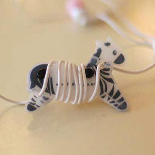 PLEPLE/Clever zebra(black)